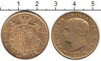 Изображение Монеты Италия 40 лир 1814 Золото XF-