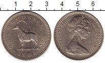 Изображение Монеты Родезия 25 центов 1964 Медно-никель XF