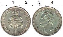 Изображение Монеты Германия Саксония 1/6 талера 1863 Серебро UNC