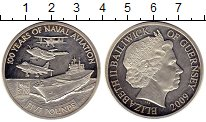 Изображение Монеты Великобритания Гернси 5 фунтов 2009 Серебро Proof-