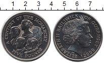Изображение Монеты Великобритания Гернси 5 фунтов 2000 Медно-никель UNC