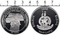Изображение Монеты Вануату 50 вату 1996 Серебро Proof