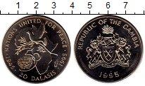 Изображение Монеты Гамбия 20 даласи 1995 Медно-никель UNC