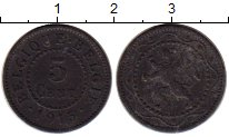 Изображение Монеты Бельгия 5 сантим 1915 Цинк XF