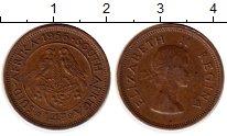 Изображение Монеты ЮАР 1/4 пенни 1956 Бронза XF