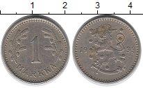 Изображение Монеты Финляндия 1 марка 1933 Медно-никель XF