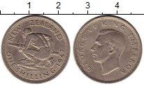 Изображение Монеты Новая Зеландия 1 шиллинг 1947 Медно-никель XF