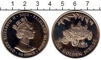 Изображение Монеты Великобритания Фолклендские острова 50 пенсов 2002 Медно-никель UNC-