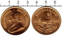 Изображение Монеты ЮАР 1 крюгерранд 1983 Золото UNC