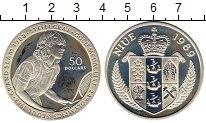 Изображение Монеты Новая Зеландия Ниуэ 50 долларов 1989 Серебро VF