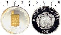 Изображение Монеты Науру 10 долларов 2005 Серебро Proof-