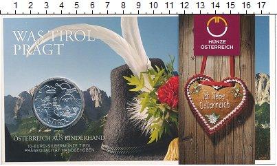 Изображение Подарочные монеты Австрия 10 евро 2014 Серебро UNC Федеральные земли: Т