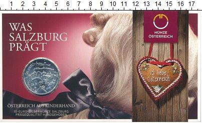Изображение Подарочные монеты Австрия 10 евро 2014 Серебро UNC Федеральные земли: З