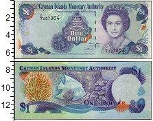 Изображение Банкноты Великобритания Каймановы острова 1 доллар 1999  UNC