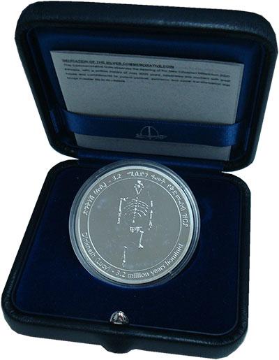 Изображение Подарочные монеты Эфиопия 20 бирр 2000 Серебро Proof