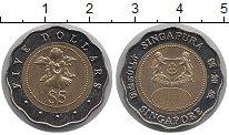 Изображение Монеты Сингапур 5 долларов 2000 Биметалл UNC