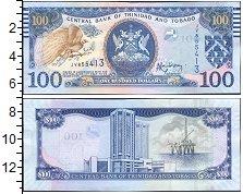 Изображение Боны Тринидад и Тобаго 100 долларов 2006  UNC