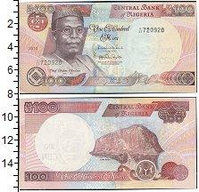 Изображение Боны Нигерия 100 найр 2010   Портрет О. Аволово.