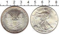 Изображение Монеты США 1 доллар 2004 Серебро UNC