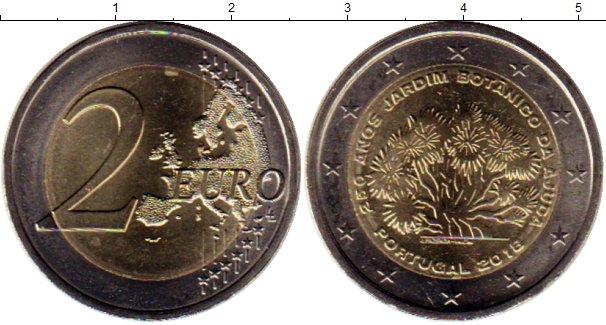 Картинка Мелочь Португалия 2 евро Биметалл 2018