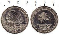 Изображение Мелочь Австралия Кокосовые острова 50 центов 2004 Медно-никель UNC-