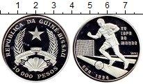 Изображение Монеты Гвинея-Бисау 10000 песо 1992 Серебро Proof