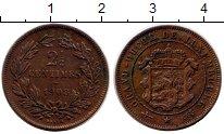 Изображение Монеты Люксембург 2 1/2 сантима 1908 Медь XF
