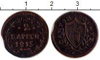 Изображение Монеты Швейцария Швиц 2 рапенна 1815 Медь VF