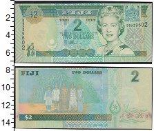 Изображение Банкноты Фиджи 2 доллара 2007  UNC