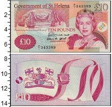 Изображение Банкноты Великобритания Остров Святой Елены 10 фунтов 2004  UNC