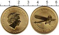 Изображение Мелочь Австралия 1 доллар 2014 Латунь UNC