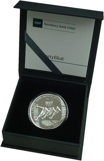 Изображение Подарочные монеты Польша 10 злотых 2018 Серебро Proof Монета Республики По