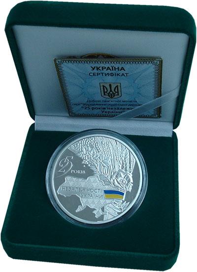 Изображение Подарочные монеты Украина 20 гривен 2016 Серебро Proof