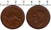 Изображение Монеты Австралия 1 пенни 1942 Бронза XF