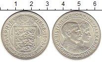 Изображение Монеты Дания 2 кроны 1923 Серебро XF