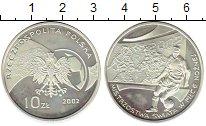Изображение Монеты Польша 10 злотых 2002 Серебро Proof-