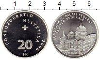 Изображение Монеты Швейцария 20 франков 2006 Серебро UNC