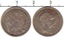 Изображение Монеты Австрия 10 крейцеров 1872 Серебро XF