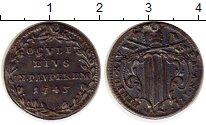 Изображение Монеты Ватикан 1 гроссо 1743 Серебро VF