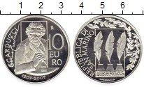 Изображение Монеты Сан-Марино 10 евро 2007 Серебро Proof