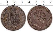 Изображение Монеты Германия Ганновер 1 талер 1848 Серебро XF