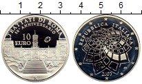 Изображение Монеты Италия 10 евро 2007 Серебро Proof