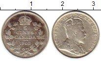 Изображение Монеты Канада 5 центов 1903 Серебро XF-