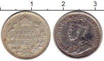 Изображение Монеты Канада 5 центов 1917 Серебро XF