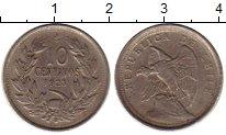 Изображение Монеты Чили 10 сентаво 1923 Медно-никель XF