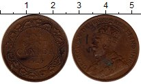 Изображение Монеты Канада 1 цент 1919 Бронза XF-