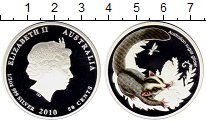 Монета Австралия 50 центов Серебро 2010 Proof фото