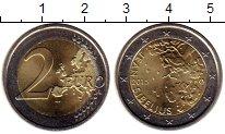 Изображение Мелочь Финляндия 2 евро 2015 Биметалл UNC-