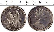 Изображение Монеты Великобритания Остров Мэн 1 крона 1998 Медно-никель UNC-