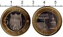 Изображение Монеты Финляндия 5 евро 2013 Биметалл UNC-
